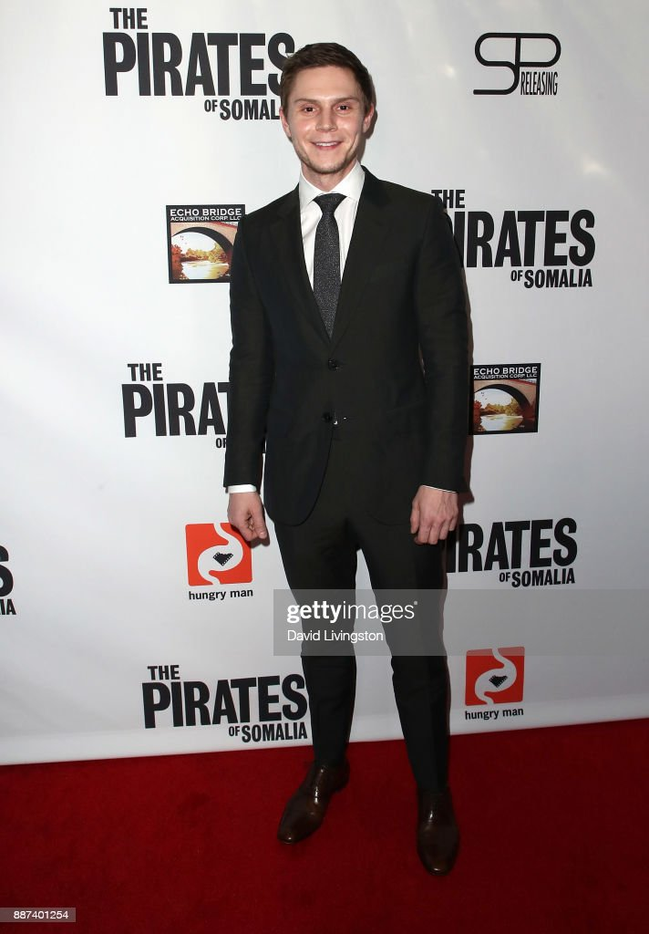 Actor Evan Peters attends the premiere of Front Row Filmed Entertainment's 'The Pirates of Somalia' at TCL Chinese 6 Theatres on December 6, 2017 in Hollywood, California.