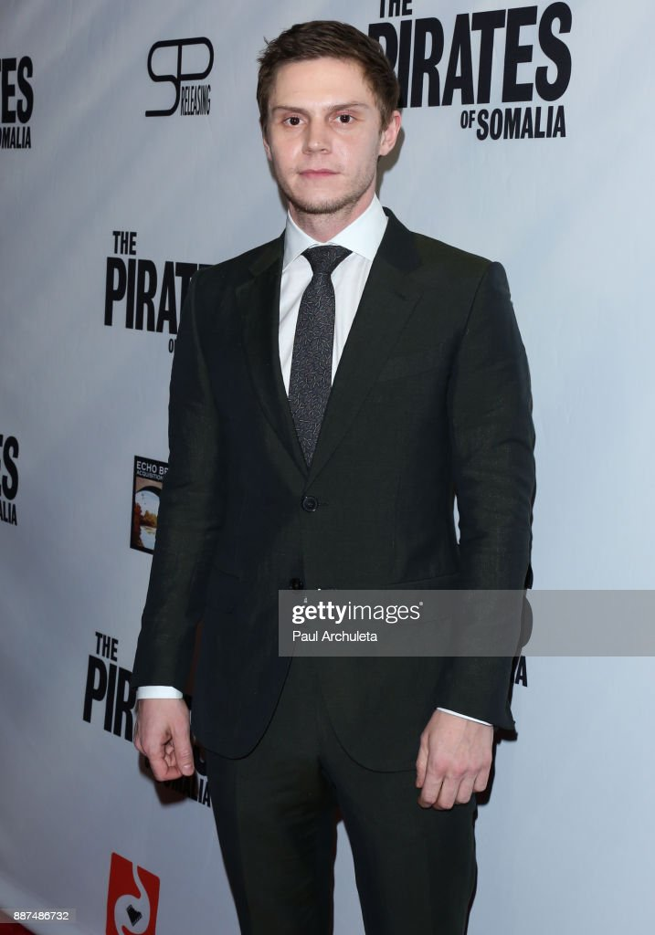Actor Evan Peters attends the premiere of 'The Pirates Of Somalia' at The TCL Chinese 6 Theatres on December 6, 2017 in Hollywood, California.
