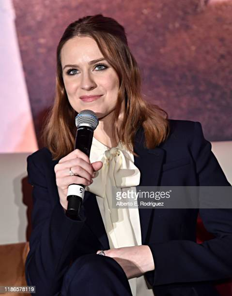 Actor Evan Rachel Wood as seen at the FROZEN 2 Global Press Conference at W Hollywood on November 09 2019 in Hollywood California