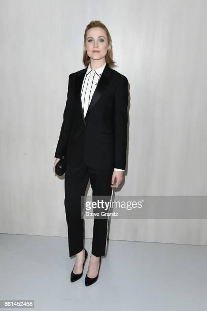Actor Evan Rachel Wood at Bottega Veneta Hosts Hammer Museum Gala In The Garden on October 14 2017 in Westwood California