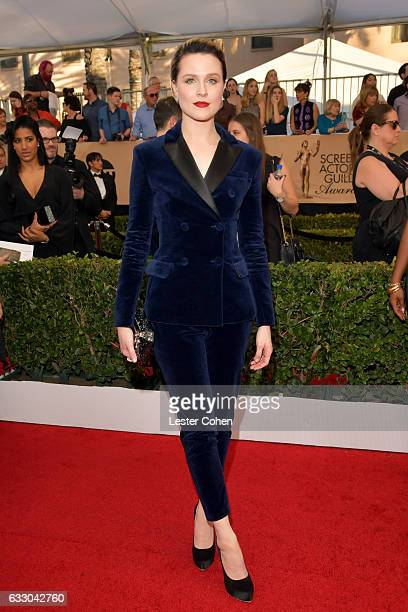 Actor Evan Rachel Wood attends the 23rd Annual Screen Actors Guild Awards at The Shrine Expo Hall on January 29 2017 in Los Angeles California