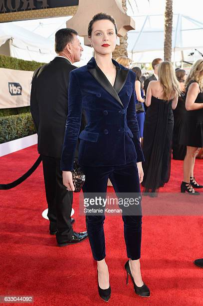 Actor Evan Rachel Wood attends The 23rd Annual Screen Actors Guild Awards at The Shrine Auditorium on January 29 2017 in Los Angeles California...