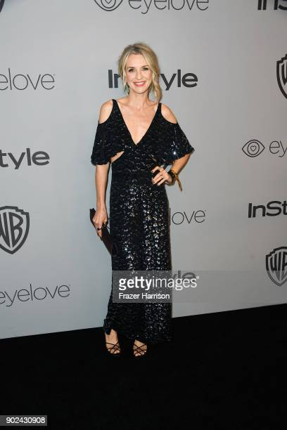 Actor Ever Carradine attends the 19th Annual PostGolden Globes Party hosted by Warner Bros Pictures and InStyle at The Beverly Hilton Hotel on...