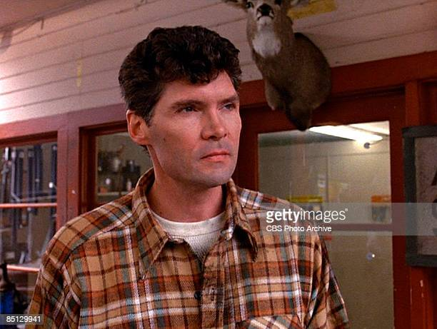 Actor Everett McGill plays Bid Ed Hurley from the pilot episode of the hit television series 'Twin Peaks' 1990