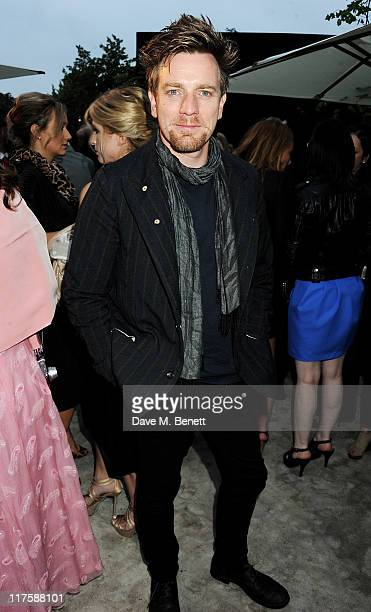 Actor Ewan Macgregor attends the Burberry Serpentine Summer Party at The Serpentine Gallery on June 28 2011 in London England