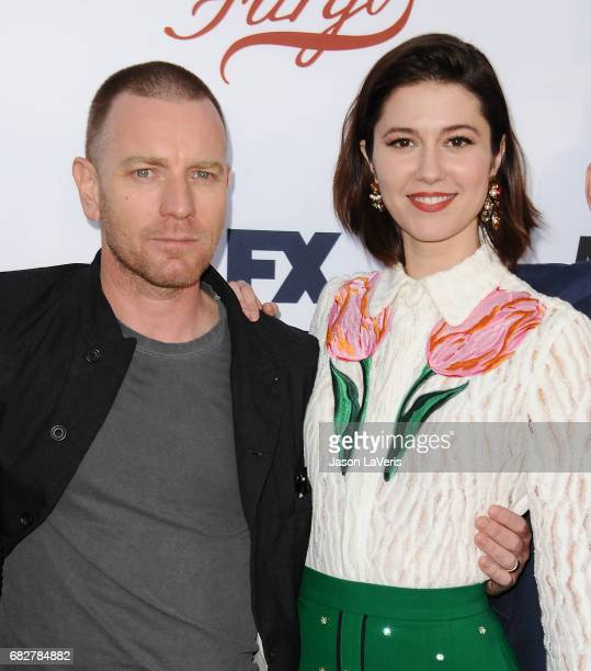 Actor Ewan McGregor and actress Mary Elizabeth Winstead attend the Fargo For Your Consideration event at Saban Media Center on May 11 2017 in North...