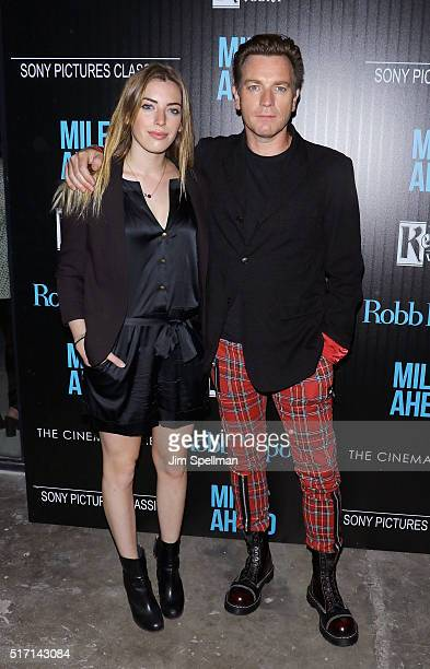 Actor Ewan McGregor and daughter Clara Mathilde McGregor attend The Cinema Society with Ketel One and Robb Report host a screening of Sony Pictures...