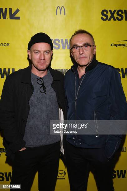 Actor Ewan McGregor and director Danny Boyle attend the premiere of 'Trainspotting 2' during 2017 SXSW Conference and Festivals at Alamo Ritz on...