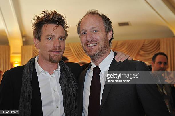 Actor Ewan McGregor and Director Mike Mills attend the cocktail party for 'Love' for the Seattle International Film Festival at the Sorento Hotel on...