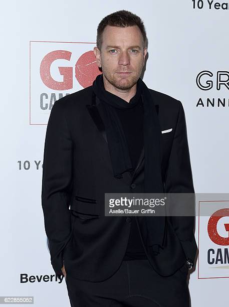 Actor Ewan McGregor arrives at the 10th Annual GO Campaign Gala at Manuela on November 5 2016 in Los Angeles California