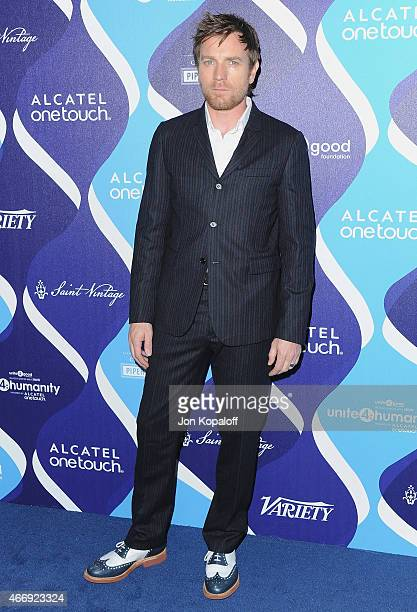 Actor Ewan McGregor arrives at the 2nd Annual Unite4humanity Event at The Beverly Hilton Hotel on February 19 2015 in Beverly Hills California