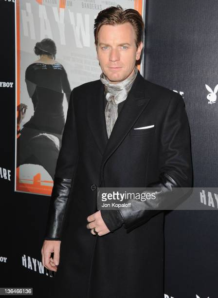 Actor Ewan McGregor arrives at the Los Angeles Premiere Haywire at Directors Guild Of America on January 5 2012 in Los Angeles California