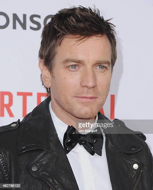 Actor Ewan McGregor arrives at the Los Angeles Premiere Of 'Mortdecai' at TCL Chinese Theatre on January 21 2015 in Hollywood California
