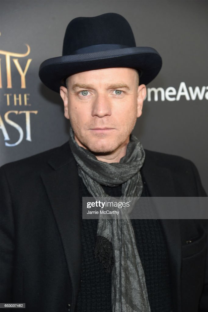 Actor Ewan McGregor arrives at the New York special screening of Disney's live-action adaptation 'Beauty and the Beast' at Alice Tully Hall on March 13, 2017 in New York City.