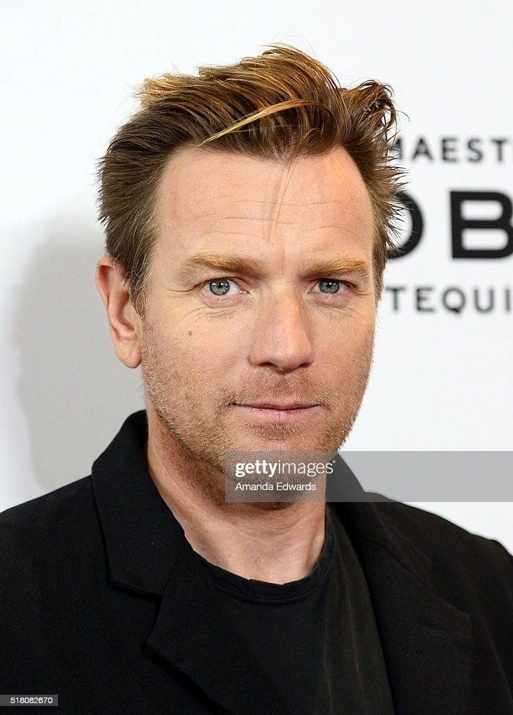Actor Ewan McGregor arrives at the premiere of Sony Pictures Classics' 'Miles Ahead' at the Writers Guild Theater on March 29, 2016 in Beverly Hills, California.