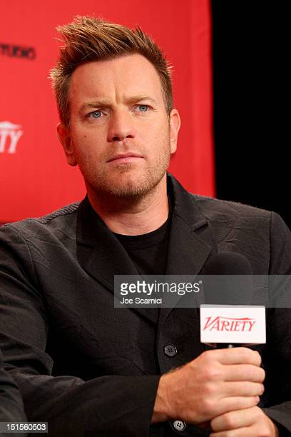 Actor Ewan McGregor at Variety Studio presented by Moroccanoil on Day 1 at Holt Renfrew, Toronto during the 2012 Toronto International Film Festival...