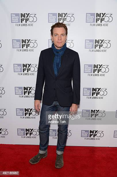 Actor Ewan McGregor attends 53rd New York Film Festival closing night gala screening of 'Miles Ahead' at Alice Tully Hall Lincoln Center on October...