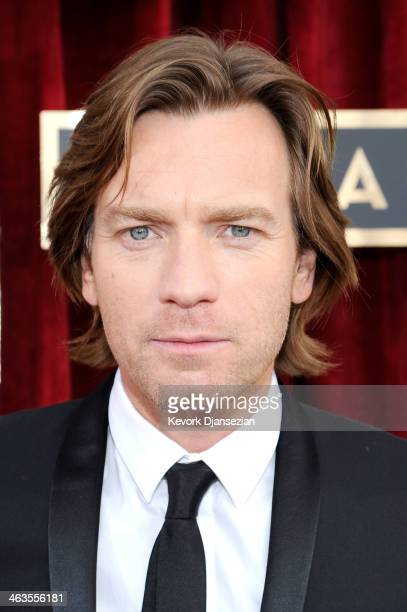 Actor Ewan McGregor attends the 20th Annual Screen Actors Guild Awards at The Shrine Auditorium on January 18 2014 in Los Angeles California