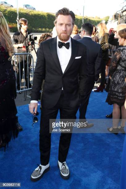 Actor Ewan McGregor attends the 23rd Annual Critics' Choice Awards on January 11 2018 in Santa Monica California