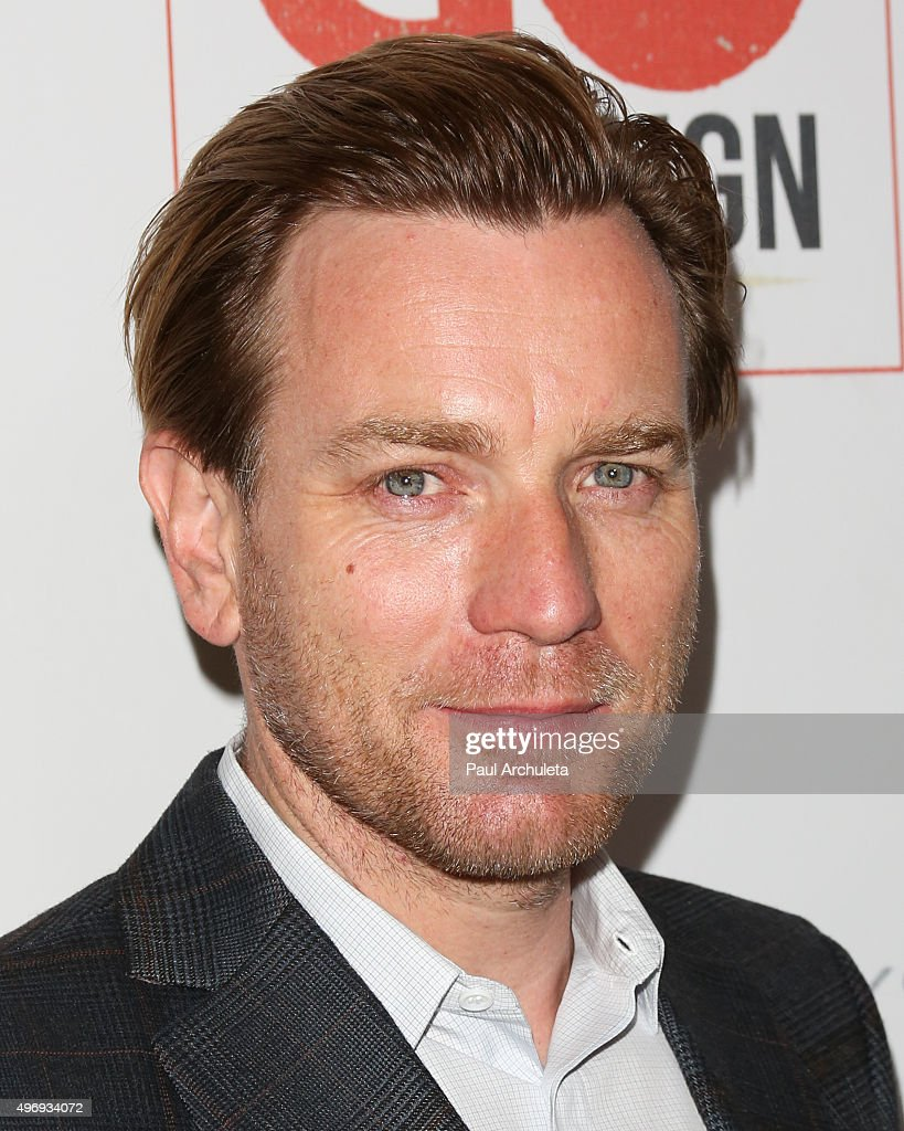 Actor Ewan McGregor attends the 8th Annual GO Campaign Gala at Montage Beverly Hills on November 12, 2015 in Beverly Hills, California.
