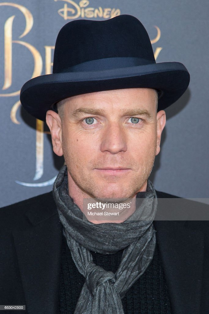 Actor Ewan McGregor attends the 'Beauty And The Beast' New York screening at Alice Tully Hall at Lincoln Center on March 13, 2017 in New York City.