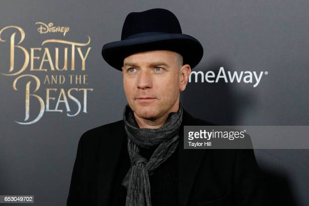 Actor Ewan McGregor attends the 'Beauty and the Beast' New York screening at Alice Tully Hall Lincoln Center on March 13 2017 in New York City
