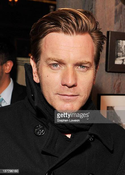 Actor Ewan McGregor attends the Cinema Society Blackberry Bold screening after party for Haywire at Sons of Essex on January 18 2012 in New York City