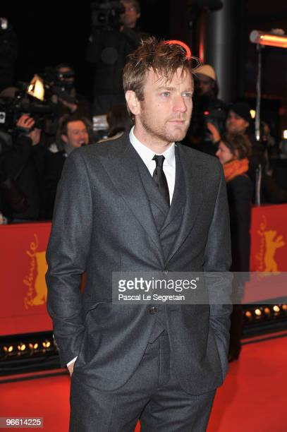 Actor Ewan McGregor attends 'The Ghost Writer' Premiere during day two of the 60th Berlin International Film Festival at the Berlinale Palast on...