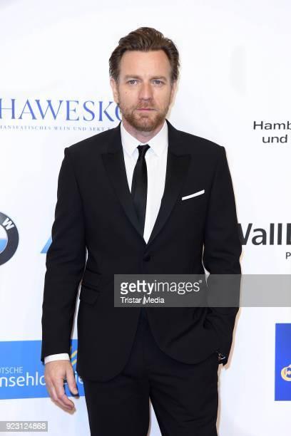 Actor Ewan McGregor attends the Goldene Kamera on February 22 2018 in Hamburg Germany
