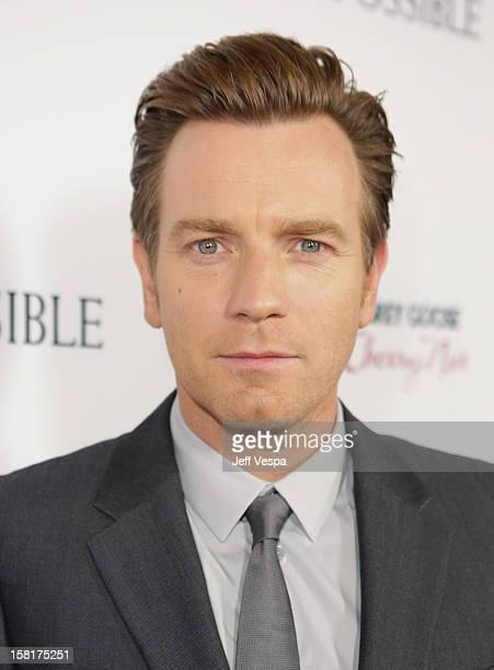 """Actor Ewan McGregor attends the Los Angeles Premiere of """"The Impossible"""" presented by Grey Goose Vodka at ArcLight Cinemas on December 10, 2012 in..."""