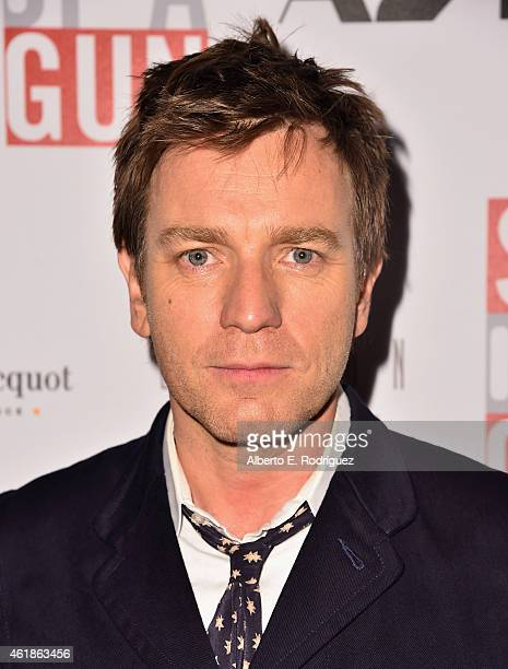 Actor Ewan McGregor attends the Los Angeles screening of 'Son Of A Gun' at The London West Hollywood on January 20 2015 in West Hollywood California