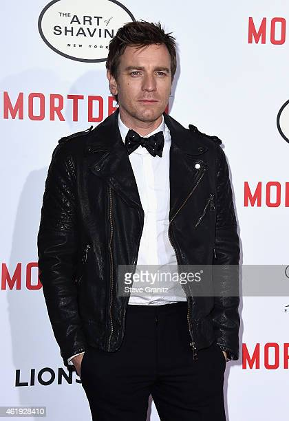 "Actor Ewan McGregor attends the premiere of Lionsgate's ""Mortdecai"" at TCL Chinese Theatre on January 21, 2015 in Hollywood, California."