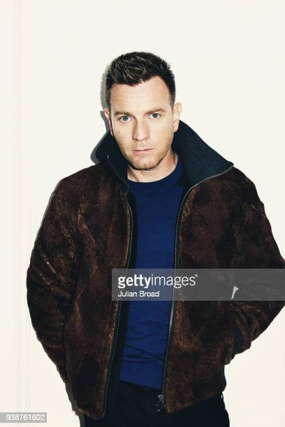 Actor Ewan McGregor is photographed for the Telegraph magazine on November 12 2016 in London England