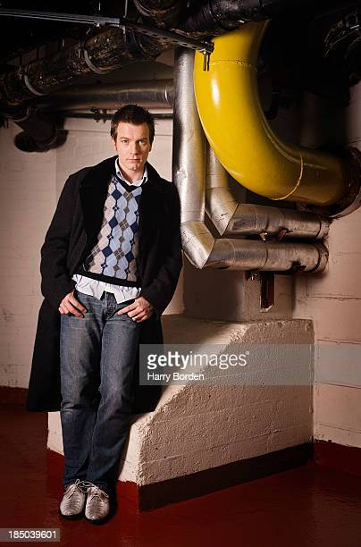 Actor Ewan Mcgregor is photographed for the Telegraph on September 5 2006 in London England