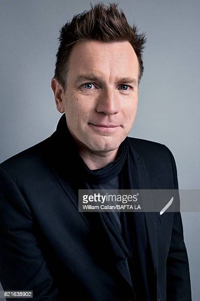Actor Ewan McGregor poses for a portrait at the 2016 AMD British Academy Britannia Awards presented by Jaguar Land Rover and American Airlines at The...