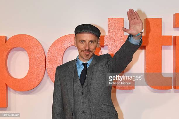 Actor Ewen Bremner attends the World Premiere of T2 Trainspotting at Cineworld on January 22, 2017 in Edinburgh, United Kingdom.