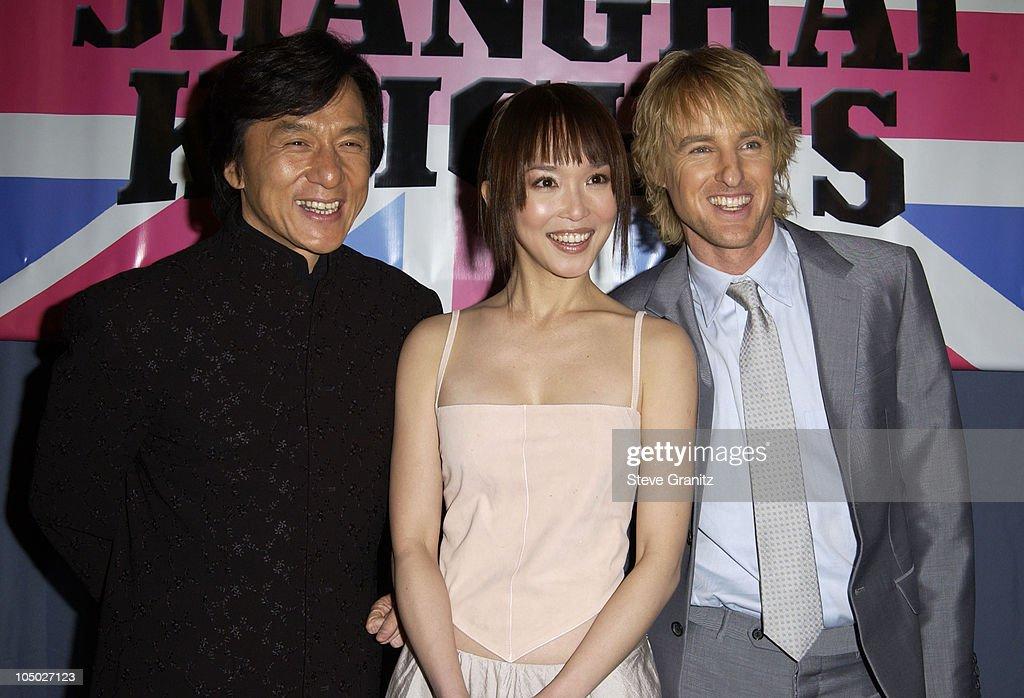 """""""Shanghai Knights"""" Premiere - Hollywood : Nachrichtenfoto"""