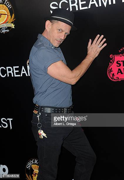 Actor Ezra Buzzington arrives for Screamfest 2016 Opening Night Screening Of 'Trash Fire' held at TCL Chinese Theatre on October 18 2016 in Hollywood...