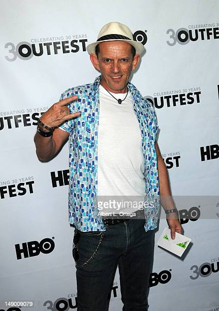 Actor Ezra Buzzington arrives for the 2012 Outfest Premiere Of 'Any Day Now' held at DGA Theater on July 21 2012 in West Hollywood California