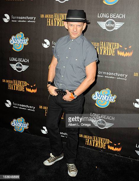 Actor Ezra Buzzington arrives for the 4th Annual Los Angeles Haunted Hayride 'The Congregation' Arrivals held at Griffith Park on October 7 2012 in...