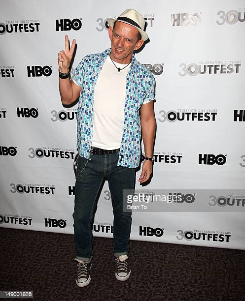 Actor Ezra Buzzington attends 2012 Outfest Film Festival 'Any Day Now' premiere at Directors Guild Of America on July 21 2012 in Los Angeles...