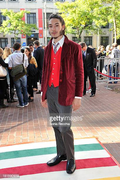 Actor Ezra Miller attends 'The Perks Of Being A Wallflower' premiere during the 2012 Toronto International Film Festival at Ryerson Theatre on...