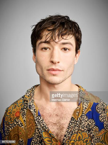 Actor Ezra Miller from 'Fantastic Beasts and Where To Find Them' is photographed for Entertainment Weekly Magazine on July 23, 2016 at Comic Con in...