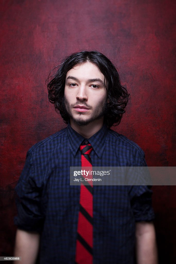 Actor Ezra Miller is photographed for Los Angeles Times on January 24, 2015 in Park City, Utah. PUBLISHED IMAGE.