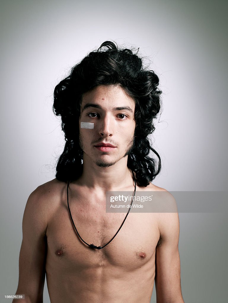Actor Ezra Miller Is Photographed For Paper Magazine On July 1 2012
