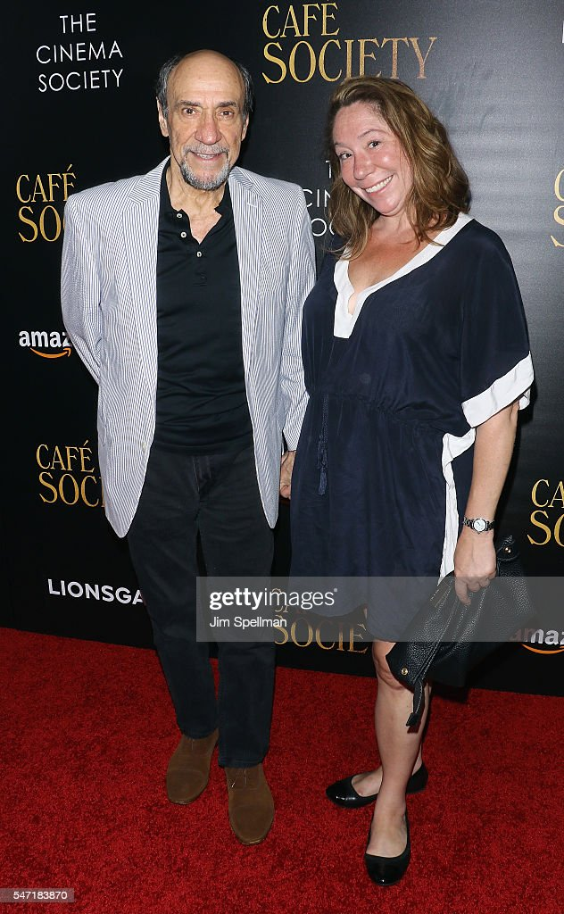 Actor F. Murray Abraham and Kate Hannan attend the New York premiere of 'Cafe Society' hosted by Amazon & Lionsgate with The Cinema Society at Paris Theatre on July 13, 2016 in New York City.