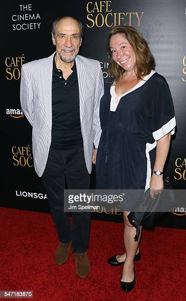 Actor F Murray Abraham and Kate Hannan attend the New York premiere of Cafe Society hosted by Amazon Lionsgate with The Cinema Society at Paris...
