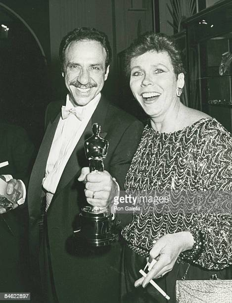 Actor F Murray Abraham and wife Kate Hannan attending 57th Annual Academy Awards on March 25 1985 at the Dorothy Chandler Pavilion in Los Angeles...