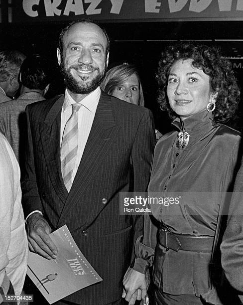 Actor F Murray Abraham and wife Kate Hannan attending the premiere of That's Life on September 15 1986 at the Coronet Theater in New York City New...