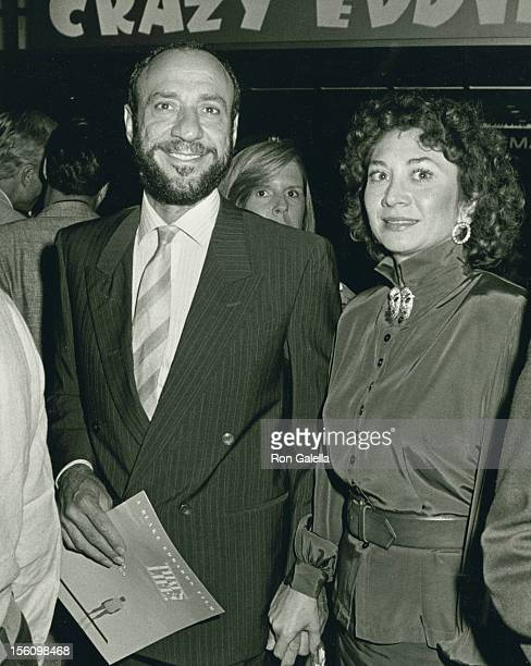 Actor F Murray Abraham and wife Kate Hannan attending the premiere of 'That's Life' on September 15 1986 at the Coronet Theater in New York City New...